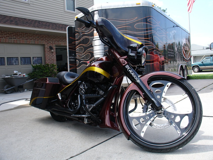 2009 Ice Cycle Radical Street Glide For Sale   'Make an Offer'
